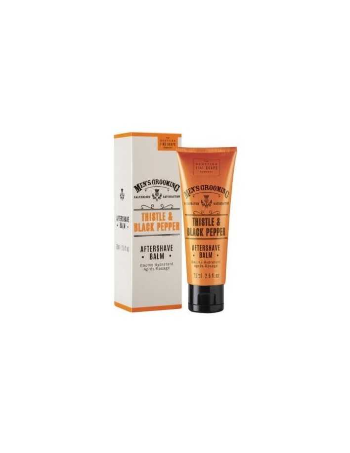 The Scottish Men's Grooming Aftershave Balm 75ml 4534 Scottish Fine Soaps Company Creme Balm €7.95 product_reduction_percent€...