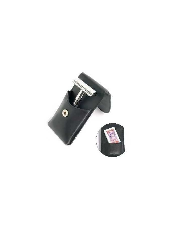 Timor 1326 Safety Razor Leather Pouch & Blades 4538 Timor Closed Comb Razors €45.90 €37.02
