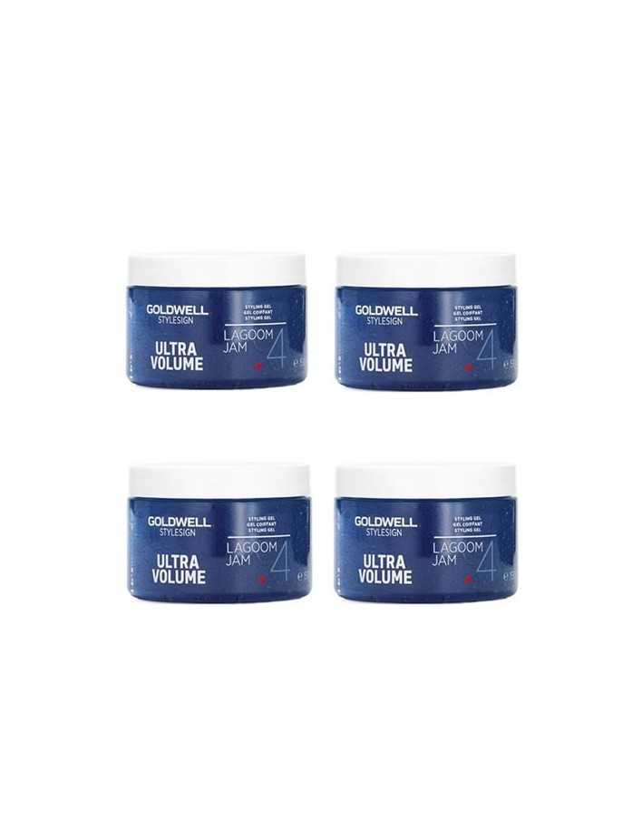 Goldwell 4x150ml Volume Lagoom Jam Gel 2065 Goldwell Strong Gel €48.00 -10%€38.71