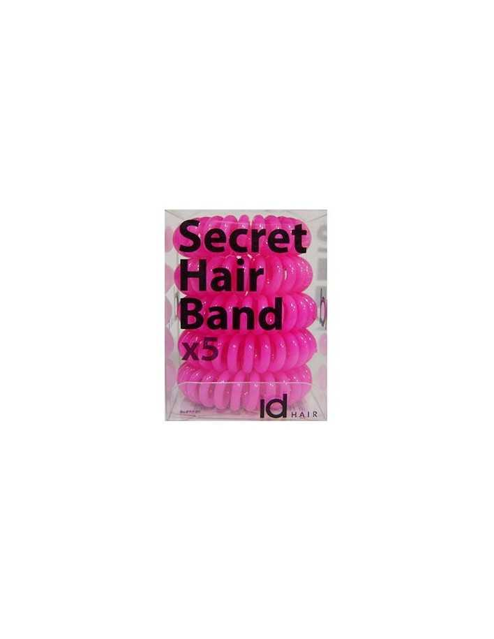 Id Hair Secret Hair Band x5 Ροζ 4701 Id Hair Κοκαλάκια €5.95 €4.80