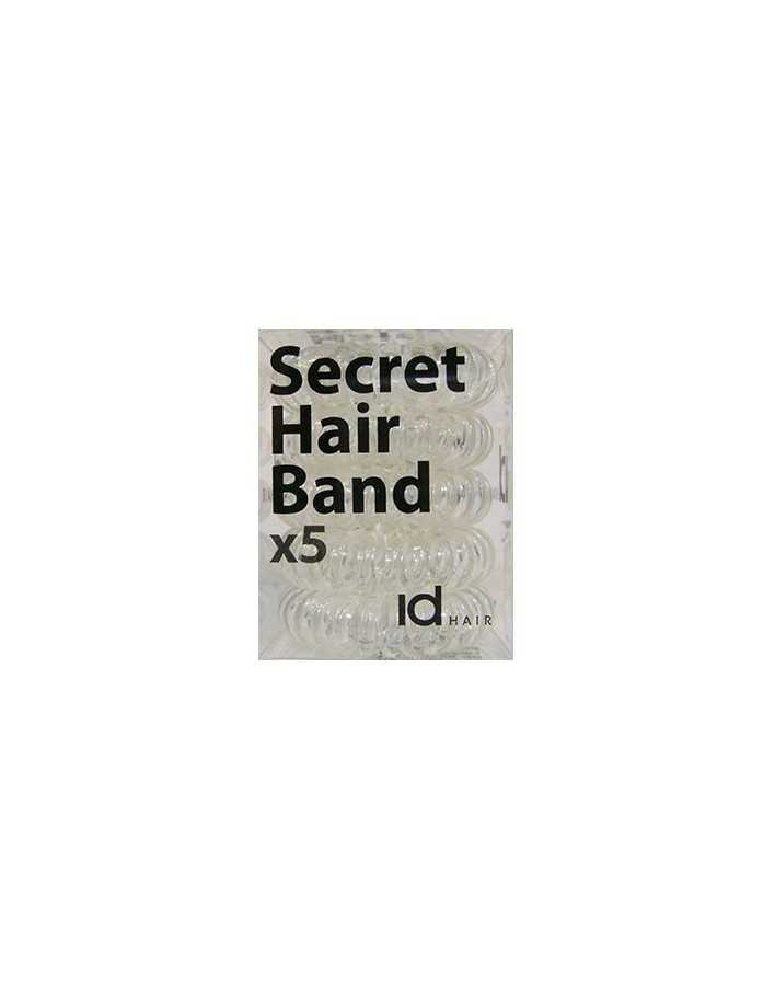 Id Hair Secret Hair Band x5 Transparent 4697 Id Hair Hair Clips €5.95 €4.80