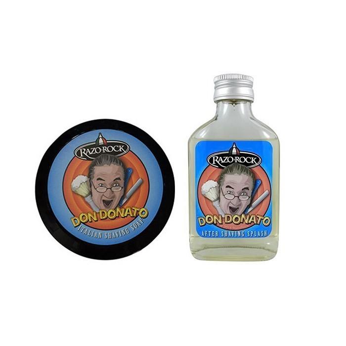 Razorock Don Donato Pack After Shave 100ml & Artisan Shaving Soap 125gr
