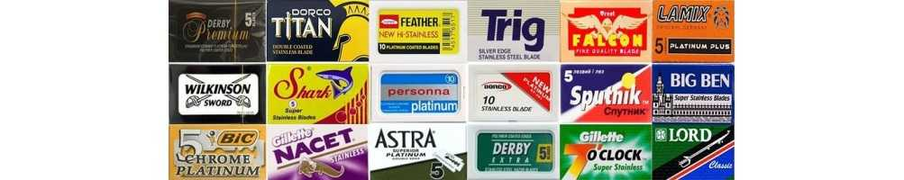 Razor blades for all safety razors