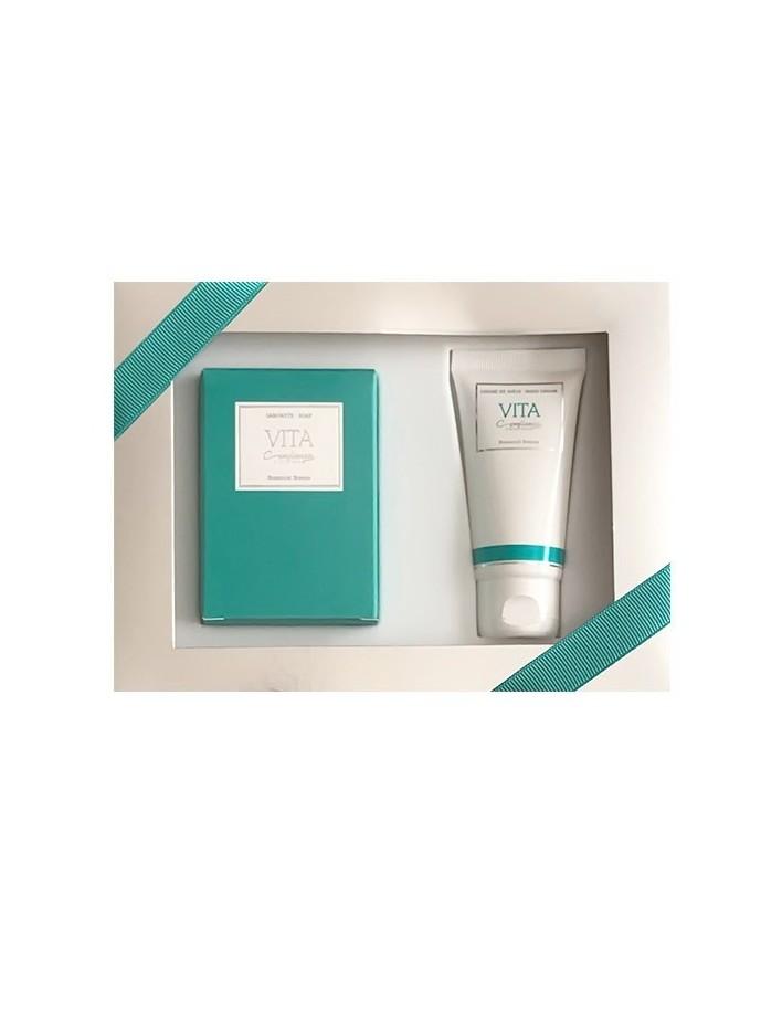 Confianca Vita Gift Box Soap 150gr & Hand Cream 50ml