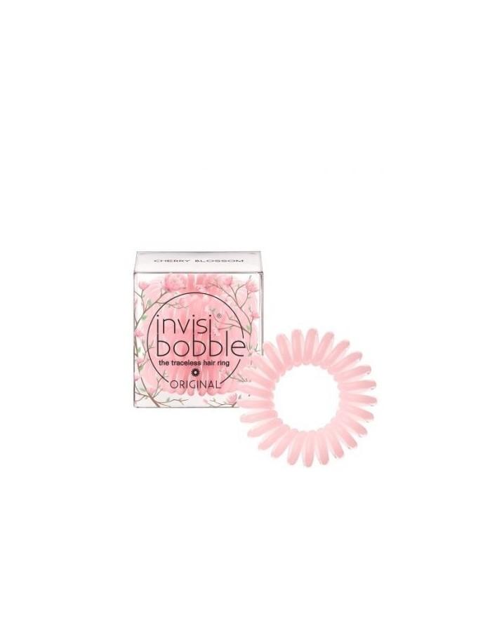 Κοκαλάκια Μαλλιών Invisibobble Traceless Hair Ring Cherry Blossom 3x